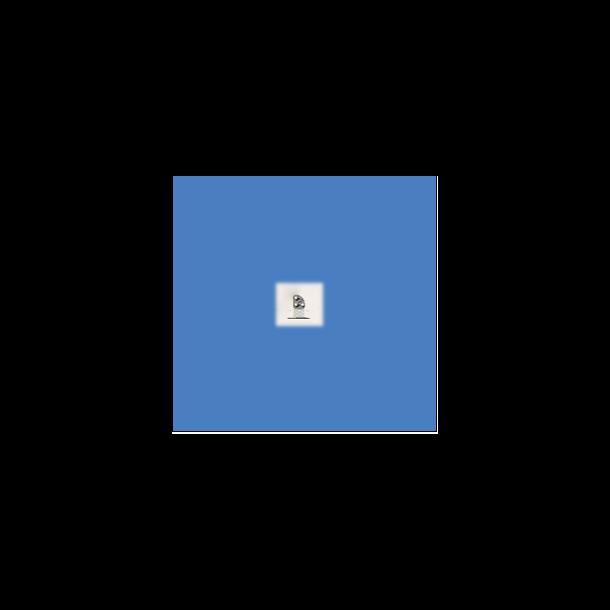 Dværg signal ( DV ) med 3 lanterner. komplet