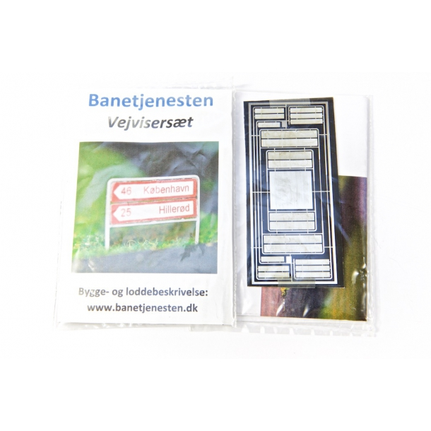 Vejviser skilte - Typisk danske