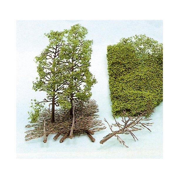 Pakke komplet til 10 træer, 18 cm. høje.